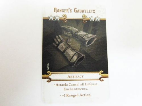 md - artefact card (rangers gauntlets)